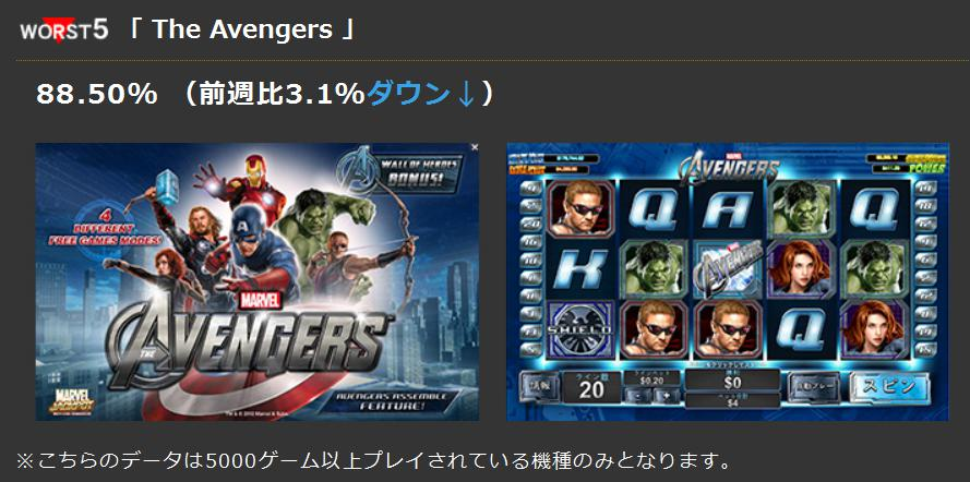worst5「 The Avengers 」